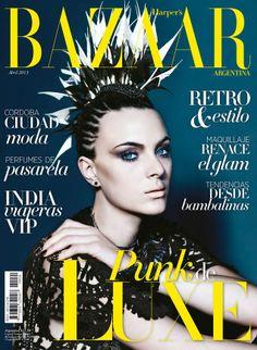 Camila Castares - Harper's Bazaar Magazine Cover [Argentina] (April 2013)