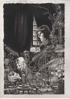 'Frankenstein, Alive, Alive!' Bernie Wrightson - Galleries