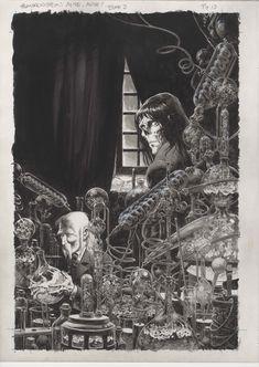 'Frankenstein, Alive, Alive!' Bernie Wrightson - Galleries