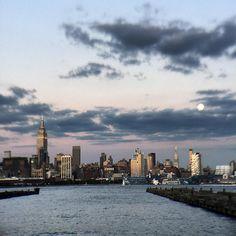 NYC skyline from Hoboken, New Jersey