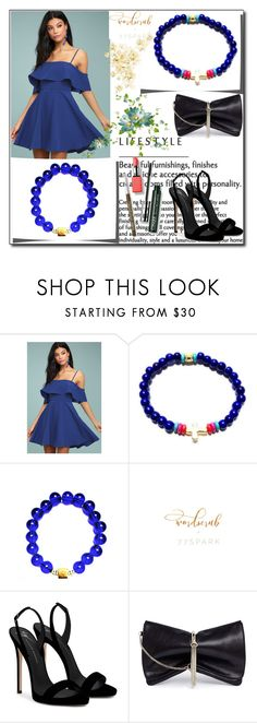 """""""77Spark 12"""" by ruza66-c ❤ liked on Polyvore featuring LULUS, Giuseppe Zanotti, Jimmy Choo, Clinique and 77spark"""