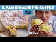 DANUBIO DI PAN BRIOCHE SOFFICISSIMO ripieno di crema e mele - la ricetta perfetta | Davide Zambelli - YouTube