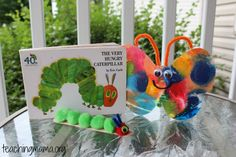 Caterpillar and butterfly crafts for kids