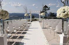 WedLuxe: West Coast #Wedding decor