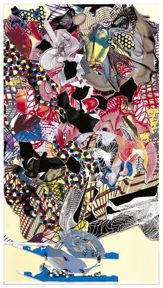 frank stella stranz - very intriguing. I keep staring at it.
