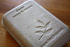 SMALL - Eco Friendly and Stylish Packaging for Soap, Jewelry, Gifts and more.... $19.95, via Etsy.