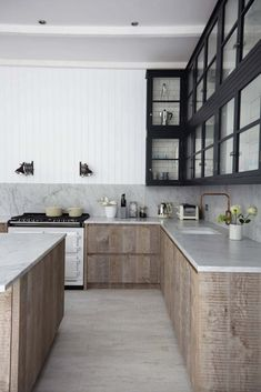 Breathtaking Carrara Marble Kitchens-25-1 Kindesign