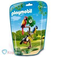 PLAYMOBIL Papegaaien en toekan - 6653 -  Koppen.com