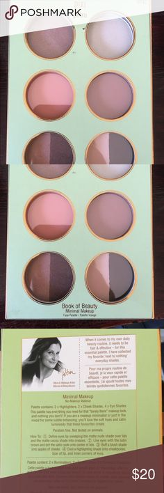 Pixie by Petra Book of Beauty Minimal Makeup New In Box. Eyeshadow. Pixi by Petra Makeup Eyeshadow