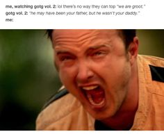"And subsequent emotional ruin: | 19 Jokes You'll Only Get If You've Seen ""Guardians Of The Galaxy: Vol. 2"""