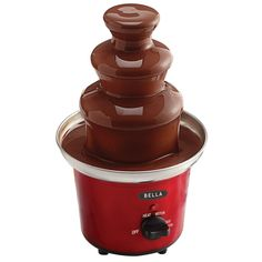 BELLA 13715 Chocolate Fountain Maker, Red -- Visit the image link more details.