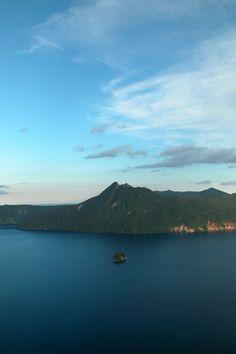 Lake Mashu, Hokkaido  摩周湖