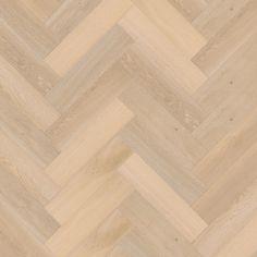 Het ideale plankformaat om de perfecte visgraatvloer te leggen. Omdat 4x breedte precies 1x lengte is kan deze vloer ook in allerlei structuren verlegd worden: oneindige mogelijkheden.  Prachtig te combineren met de Herringbone XL die als band om de vloer heen gelegd kan worden. Hardwood Floors, Flooring, Herringbone, Tile Floor, Stone, House Styles, Instagram, Wood Floor Tiles, Wood Flooring