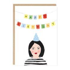 JADE Birthday Card by Jade Fisher