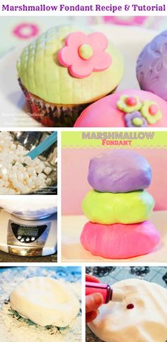Easy Marshmallow Fondant Recipe and Tutorial by by Mommy Outside the Box