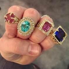Gorgeous decadent jewels - gem stones - jewelry - bling♡♡♡♡