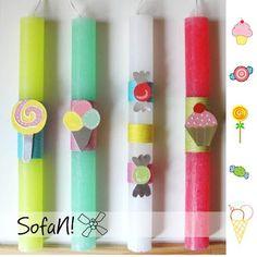 ! ♥ SofaN handmade: χειροποίητες λαμπάδες