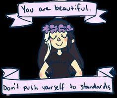 YOU ARE BEAUTIFUL! #beautiful #confidence #bekind #camillelavie