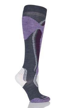 Ladies 1 Pair Bridgedale Midweight Control Fit Winter Sports Socks