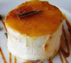 Flan de Nata y Queso - Pudding Cream and Cheese Jello Recipes, Mexican Food Recipes, Real Food Recipes, Dessert Recipes, Cooking Recipes, Sweet Desserts, No Bake Desserts, Sweet Recipes, Delicious Desserts