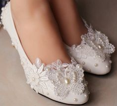 Hey, I found this really awesome Etsy listing at https://www.etsy.com/listing/196909726/flat-wedding-shoes-lace-bridal-shoes