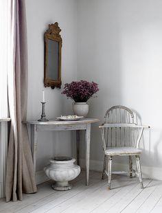 wabi sabi, sweden, shabby shic, mirror, interior