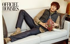 Kim Young Kwang - L'Officiel Hommes Magazine October Issue Korean Wave, Korean Men, Korean Actors, Sweet Stranger And Me, Can We Get Married, Kim Young Kwang, Young Blood, Good Doctor, Actor Model