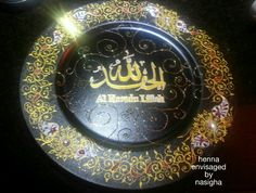 Henna Inspired plates
