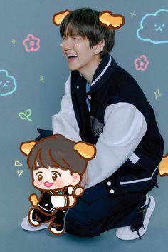 Kyungsoo, Chanyeol, Exo Fan Art, Kpop, Chanbaek, Insta Story, Disney Characters, Fictional Characters, Album