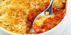Crumble parmesan tomates basilic // Parmesan basil and tomato crumble Snacks For Work, Healthy Work Snacks, Veggie Recipes, Vegetarian Recipes, Healthy Recipes, Healthy Cooking, Batch Cooking, Cooking Recipes, Food Porn
