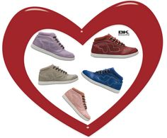 Morgen is het de dag van de Liefde: VALENTIJNSDAG! ♥ BRITISH KNIGHTS heeft voor jouw de perfecte schoenen om de hele dag op een roze wolk te zweven!