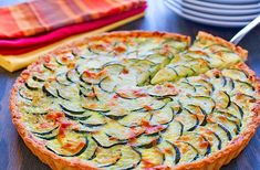 Enjoy classic quiche taste with an Italian twist. You'll find the garlic and herb flavored butter adds a savory balance to the buttery pastry crust and complements the sautéed vegetables. Challenge Butter, Food Challenge, Mamma Mia, Sauteed Vegetables, Veggies, Flavored Butter, Quiche Recipes, Food Design, Mozzarella
