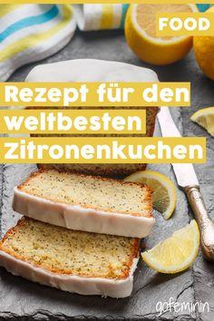 Fantastisch gut: Dieser Zitronenkuchen mit Mohn macht glücklich!