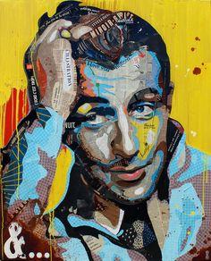 """Artist : Arnaud Bauville """"ET…PLUS """" 100 x 120 cm (39,4 inches x 47,2 inches )"""