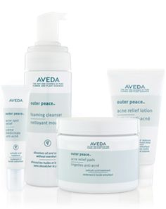Aveda's whole Outer Peace line is amazing for oily and acne prone skin. The cooling masque is a personal favourite. Allie uses it during facials, after she does extractions, and there is never any redness! Aveda Skin Care, Home Remedies For Herpes, Acne Prone Skin, Oily Skin, Acne Solutions, Acne Spots, Love Your Skin, Acne Remedies, Beauty