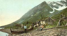 Sami boat - Tromso, Norway