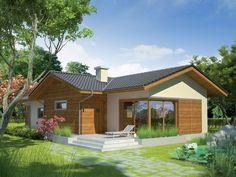 DOM.PL™ - Projekt domu AC Bil G1 CE - DOM AF3-63 - gotowy koszt budowy Cabin, House Styles, Outdoor Decor, Home Decor, Ale, Ideas, Decoration Home, Room Decor, Cabins