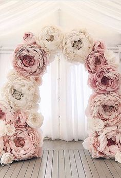 61 Ideas wedding arch flowers diy bridal shower for 2019 Floral Wedding, Diy Wedding, Wedding Ceremony, Wedding Flowers, Wedding Photos, Dream Wedding, Wedding Day, Wedding Bride, Ceremony Arch