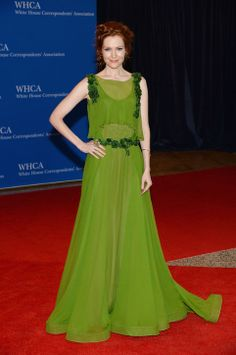 Scandal's Darby Stanchfield in Alberta Ferretti at the White House Correspondents' Dinner