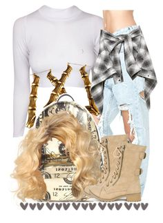 """."" by trillest-queen ❤ liked on Polyvore featuring UNIF, Robert Rodriguez and Joyrich"