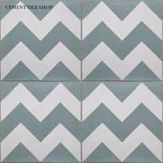 Chevron tile-awesome!! Cementtileshop.com