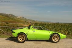 Just Because: Watch This Lancia Stratos Duel With A Fulvia   Petrolicious