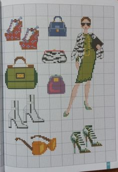 (7) Gallery.ru / Фото #5 - Douce Mediterrane - Ulka1104 Cross Stitch Collection, Victorian Women, Crafty Craft, Le Point, Pattern Art, Cross Stitching, Cool Things To Make, Hats For Women, Pixel Art