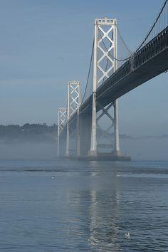 Bay Bridge, San Francisco..........the bridge that takes me home