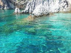 Agios Stefanos crystal water, Corfu, Greece ✯ ωнιмѕу ѕαη∂у