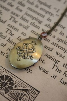 Fairy Tale Locket Necklace - Enchanted - Fairy Tale Wedding - Bridesmaid Locket