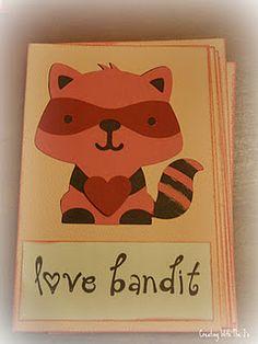 Cricut Create A Critter raccoon