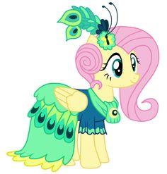 Gala Dress - Fluttershy by MixiePie on DeviantArt