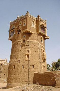 Clay House . Yemen