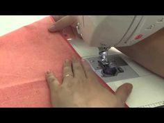 Máquina de Costura Brother NX450Q - Bainha Invisível - YouTube
